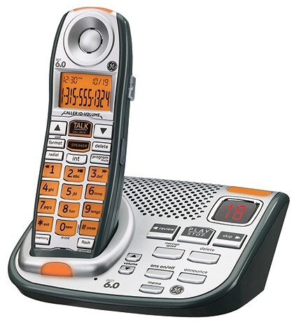 ge cordless phone with answering machine