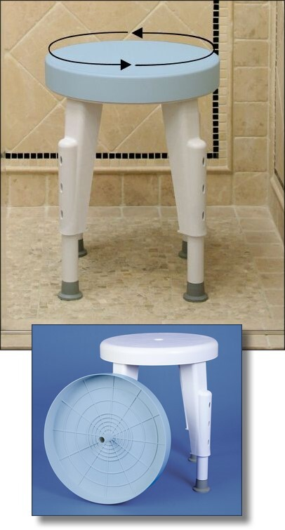 Rotating Shower Seat