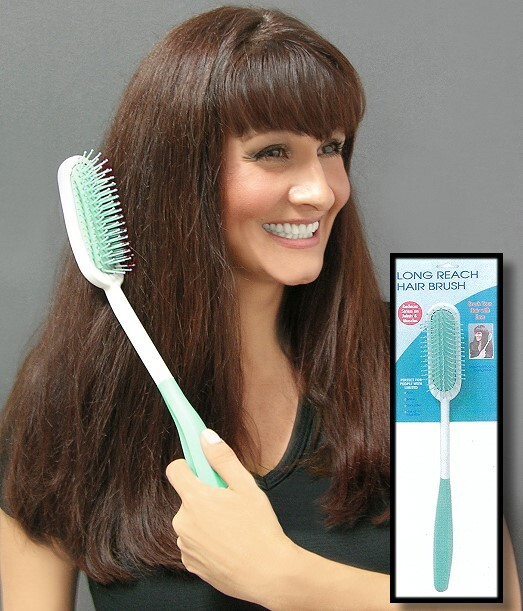 long handle hair brush