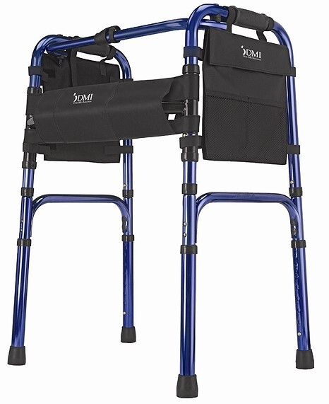 DMI Freedom Series Deluxe Folding Walker