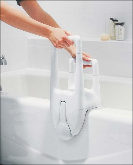 Dual Grip Tub Rail