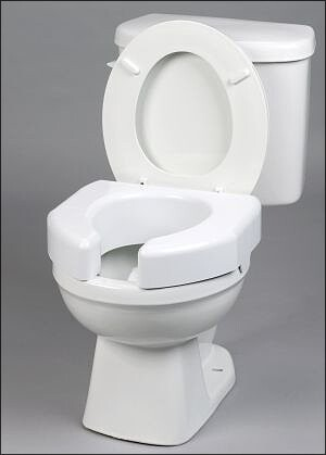Open Front Raised Toilet Seat 3 Quot Elevated Toilet Seat