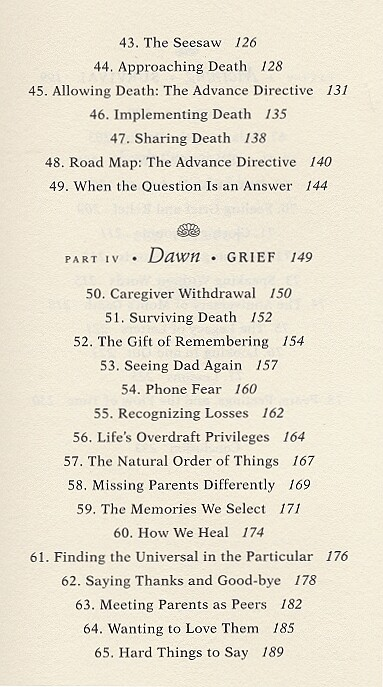 table of contents - page 3