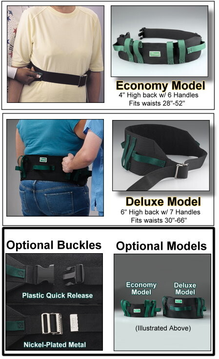 transfer & walking belt