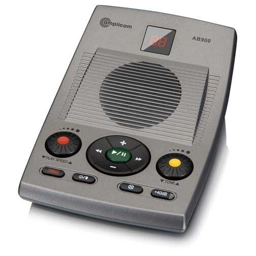 AB900� Amplicom 40 dB Amplified Answering Machine