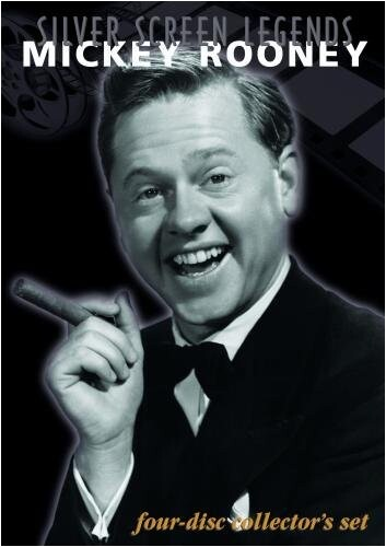 Silver Screen Legends: Mickey Rooney - 4 DVD Set Synergy