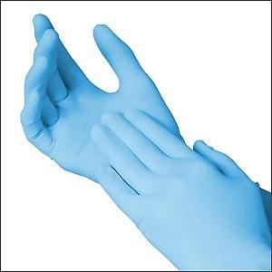 SURECARE Medium Powder Free Nitrile Exam Gloves 100 gloves//box