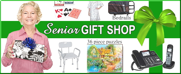 Christmas Gift Shop for Seniors, the Elderly, Disabled, and Caregivers
