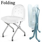 Folding Bath Chair with Back