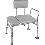 Deluxe Padded Transfer Bench