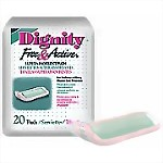 Dignity Free & Active Pads 25/Bag