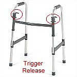 I-Class™ Trigger Paddle Folding Walker