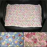 "Floral Waterproof Chair Pad - (17"" x 24"")"