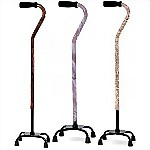 Designer Quad Cane (Small Base)