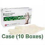 Latex Powder-Free Exam Gloves (10 Boxes/ Case) - Small
