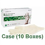 Latex Powder-Free Exam Gloves (Case) - Medium