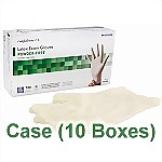 Latex Powder-Free Exam Gloves (10 Boxes/ Case) - Extra Large