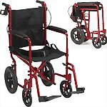 Expedition Folding Lightweight Aluminum Transport Chair