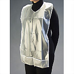 Vinyl Patient Bib with Bottom Cuff