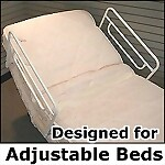Home Bed Rail for Electric and/or Craftmatic Style Adjustable Beds