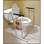 Toilet Safety Support Rails