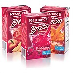 Nestle Boost Resource® Breeze Juice Drinks, 27/Case