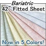Bariatric Deluxe Knit Fitted Hospital Sheet, 42 x 82