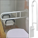 Flip-Up Grab Bar