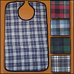 Plaid Flannel Adult Bib
