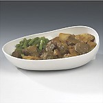 Scooper Dish with Non-Skid Base