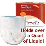 Tranquility® Premium Overnight Underwear, EXTRA SMALL