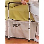 Hand Bed Rail with Floor Support