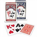 Bicycle® Large Print Playing Cards