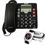 Amplicom® PowerTel 765 Responder™ Amplified Phone with Wrist Shaker