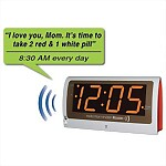 Reminder Rosie Recordable 25-Alarm Clock