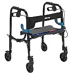 "Clever-Lite Walker with 5"" Wheels, Junior"