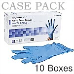 Nitrile Powder-Free Exam Gloves, X-Large (CASE)