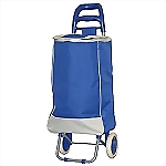 Tote-n-Bag Ergonomic Wheeling Cart