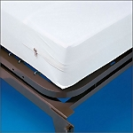 Zippered Vinyl Mattress Cover, 42 x 80 - BARIATRIC BED SIZE