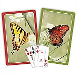 Springbok® Butterflies Bridge Jumbo Index Playing Cards