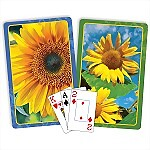 Springbok® Sunflowers Bridge Jumbo Index Playing Cards