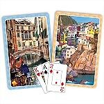 Springbok® Italy Bridge Jumbo Index Playing Cards