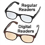 Computer + Reading Glasses, 2 Pair Combo Pack