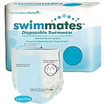 Tranquility® Swimmates™ Disposable Adult Swim Diapers, MEDIUM, 80/Case