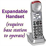 Panasonic® Expansion Handset for the KX-TGM450S Phone