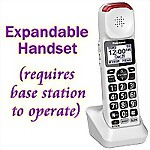 Panasonic® Expansion Handset for the KX-TGM420W Phone