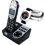 Amplicom® PowerTel 725 Reliant+™ Amplified Cordless Phone with Answering Machine & Wrist Shaker