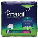 "Prevail® Bariatric 2X Ultimate Absorbency Briefs (Fits 62""-73"")"