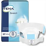 "TENA® 2X Ultra Absorbency Stretch Briefs with Tab Closure, 64/Case (Fits 64""-70"")"