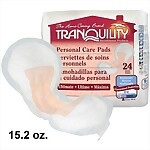 Tranquility® Ultimate Personal Care Bladder Control Pads, 96/Case (2381)